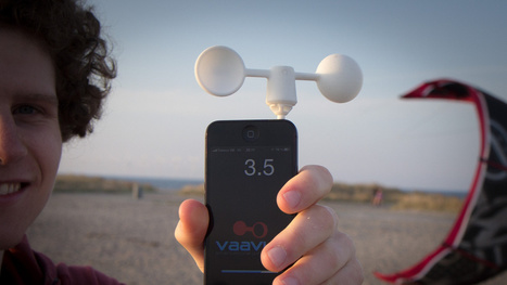 This Smart Mobile Wind Meter Contains No Electronics   Sailing and Regatta : Apps, SW & Tracking   Scoop.it