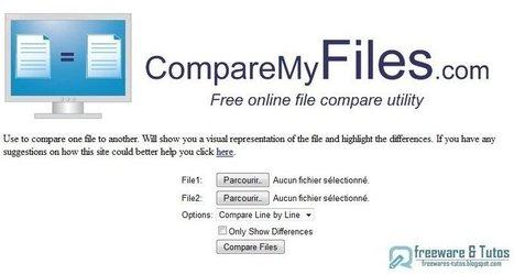 CompareMyFiles : une application en ligne pour chercher les différences entre 2 textes | François MAGNAN  Formateur Consultant | Scoop.it