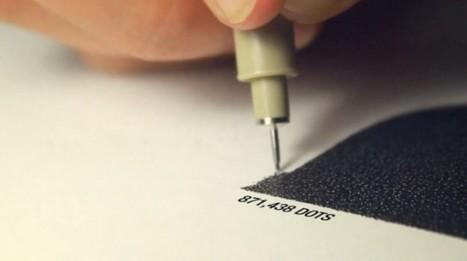 Desenho com milhões de pontos. » BLOGARTE | Desenho | Scoop.it