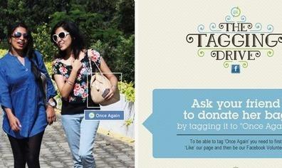 How The Tagging Drive On Facebook Helped NGO 'Once Again' Drive Donations | Web marketing pour le troisième secteur | Scoop.it