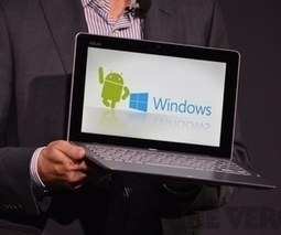 Asus announces Transformer Book Trio, runs Windows 8 and Android with two Intel CPUs | Technology | Scoop.it