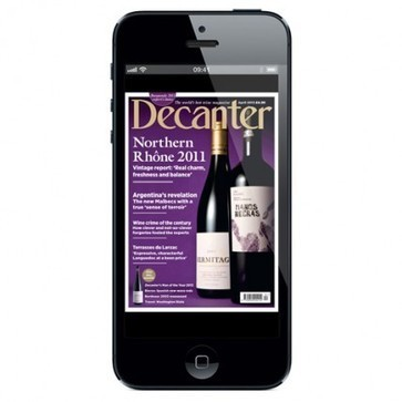 Decanter launches on iPhone as brand reaches record digital audience | Vitabella Wine Daily Gossip | Scoop.it