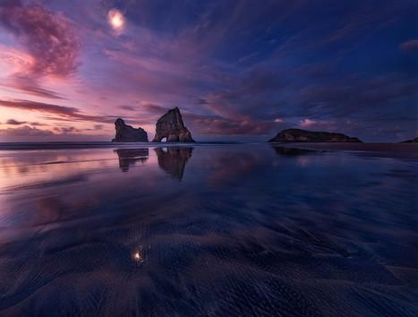 Golden Bay: When Night Falls by Yan Zhang | My Photo | Scoop.it