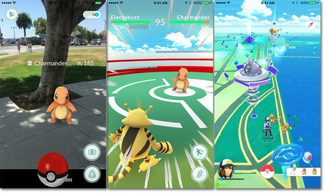 Pokemon Go rolls out to iOS App Store, available in select US locations | iPads in Education Daily | Scoop.it