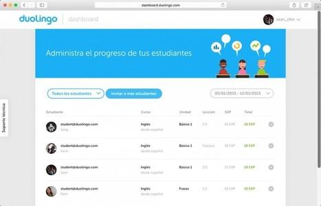 Duolingo lanza plataforma para escuelas - FayerWayer | Educar en la Sociedad del Conocimiento | Scoop.it