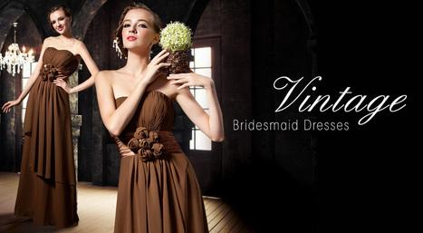 Vintage bridesmaid dresses mildress   Fashion   Scoop.it
