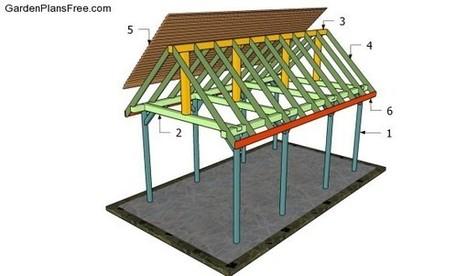 Outdoor Pavilion Plans Free Garden Plans Ho
