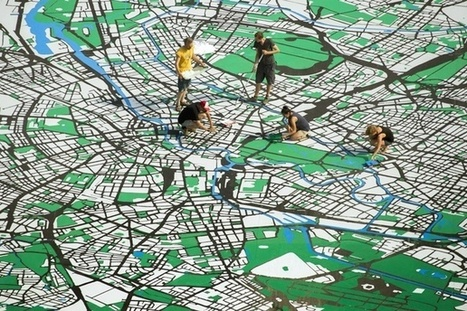 Happy Birthday Berlin! Here's a Giant Map | Cartografia Digital | Scoop.it