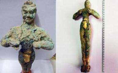 Hallan en poder de unos traficantes de Creta un raro kuros de época minoica de valor incalculable | Mundo Clásico | Scoop.it