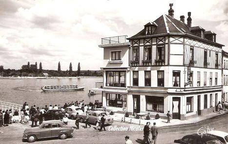 Le Blog de Rouen, photo et vidéo: Le Rouen des années 50...Le Bateau de La Bouille   MaisonNet   Scoop.it