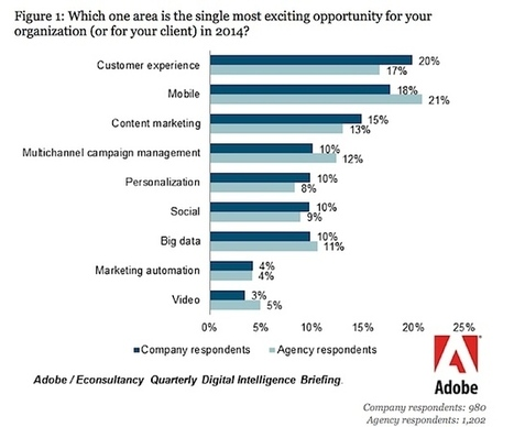 Content Marketing Is The Top Marketing Priority of 2014 | osama abulhasan | Scoop.it
