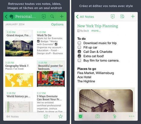 Evernote ajoute la numérisation des documents, des tableaux blancs et des cartes de visite | Brèves de scoop | Scoop.it