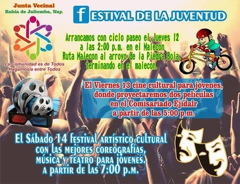 Junta Vecinal Presents Festival de la Juventud – 2013 – Youth ... | los jovenes | Scoop.it