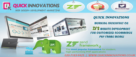 Quick Innovations has launched and started working on Zend framework 2 for E-commerce websites-Offering best results on time and more secure | Quick Innovations | Website Design | Scoop.it