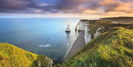 Les magnifiques images d'Etretat, sur le Huffington Post | La revue de presse de Normandie-actu | Scoop.it