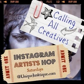 Unique Junktique: The Instagram Artists Hop | local artisans | Scoop.it