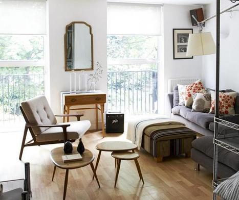 Un petit appartement londonien à l'esprit vintage | DecoCrush blog déco, idées déco | décoration & déco | Scoop.it