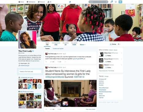 Twitter lance officiellement son nouveau design de page de profil | Twitter for business | Scoop.it