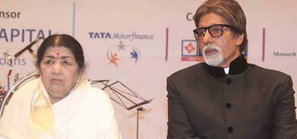 Amitabh Bachchan should be honoured with Dadasaheb Phalke Award: Lata Mangeshkar   Bollywood News   Scoop.it