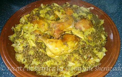 Rfissa au poulet marocaine | Les recette de les joyaux de sherazade | Scoop.it