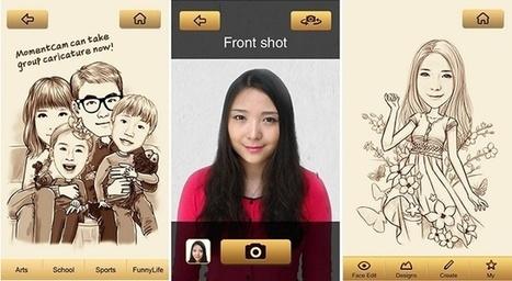 MomentCam, app para convertir fotos en caricaturas | MIRIAM | Scoop.it
