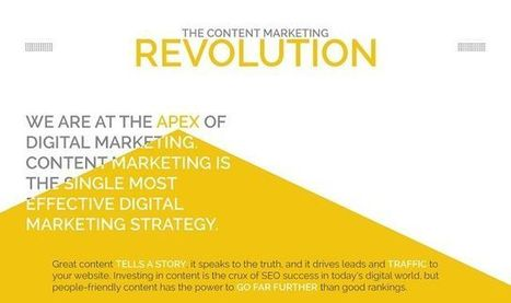 Visualistan: The Content Marketing Revolution #infographic | Content Marketing & Content Strategy | Scoop.it