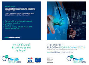Save the Date: eHealth Forum 2014 Athens, May 12-14 | Health Communication | Scoop.it
