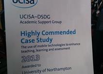 University of Northampton mobile technologies project wins UCISA Case Study Award | Teaching and Learning in HE | Scoop.it