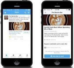 Twitter expands commerce tools with 'Offers' | Social Media Tools and new Technology | Scoop.it