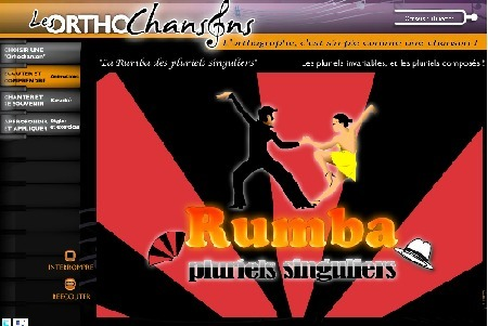 "Rumba d'enfer ! La ""rumba des pluriels singuliers""... 