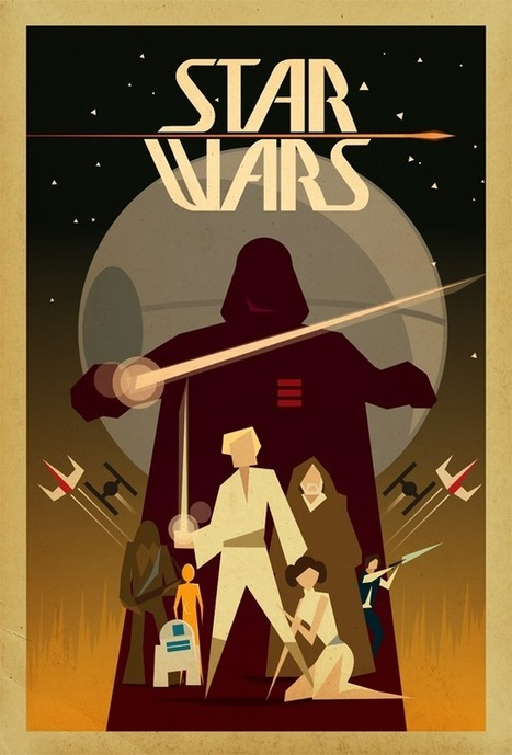 May the 4th Be With You: 20+ Magnificent Artworks That Celebrate Star Wars | Le It e Amo ✪ | Scoop.it