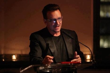 Bono legge una poesia di Samuel Beckett a New York | Samuel Beckett | Scoop.it