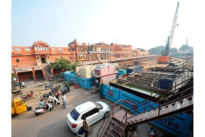 New modern metro threatens India's historic Pink City | Art Daily | Asie | Scoop.it