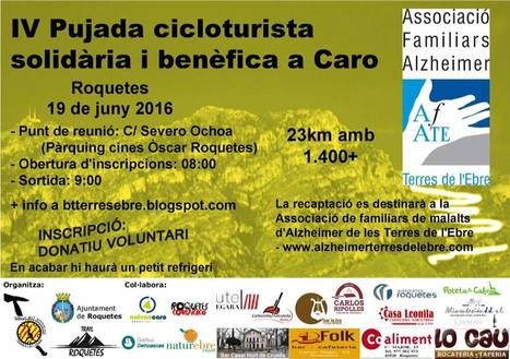 IV Pujada cicloturista solidària i benèfica a Caro.   Roquetes   Scoop.it