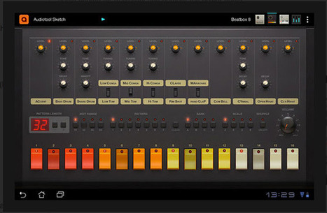 Android Arrives as a Music-Making Platform With Audiotool Sketch | Do The Robot | Scoop.it