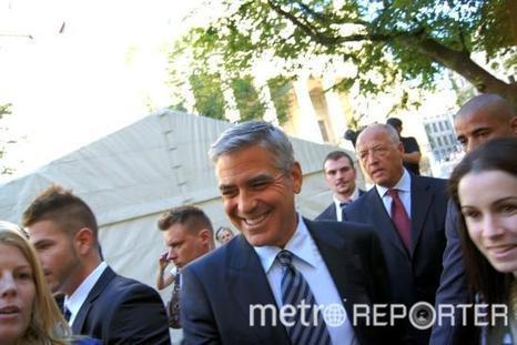George Clooney à Genève pour Obama - Metro France | Election présidentielle aux Etats Unis d'Amérique | Scoop.it