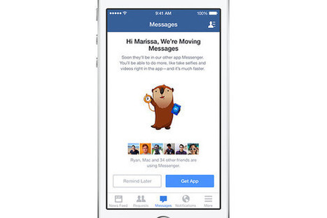 Facebook Wins: More Than 500 Million Are Using Messenger   Sticky Marketing   Scoop.it