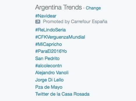 Cristina Fernández se queda con la cuenta oficial de Twitter de la Casa Rosada | socialmedia | Scoop.it