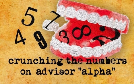 """Crunching the Numbers on Advisor """"Alpha"""" 