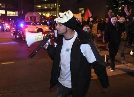 "Denver police make arrests in ""Million Mask March"" - Denver Post | Anonymous' MillionMaskMarch | Scoop.it"