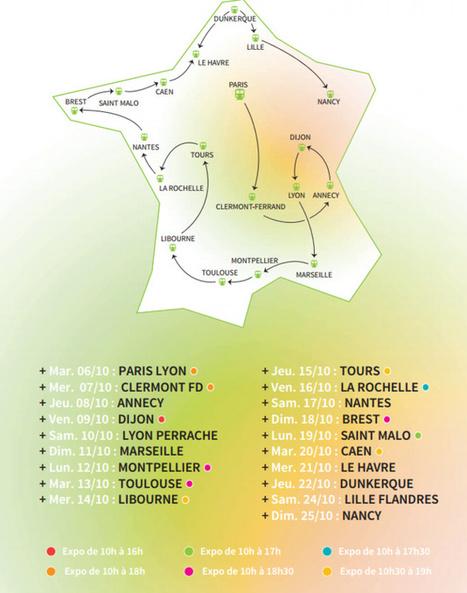Le Train du Climat s'arrêtera à Caen et au Havre, les 20 et 21 octobre | Curiosités planétaires | Scoop.it