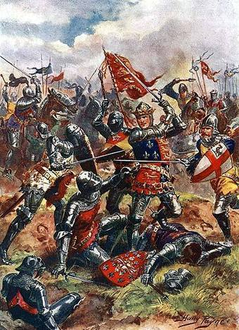 The Hundred Years War : Battle of Agincourt | histoire | Scoop.it