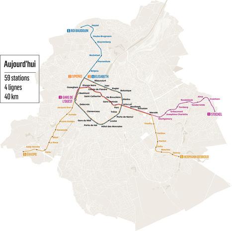 Bruxelles mérite un métro rationnel | Information Technology for the Building Industry | Scoop.it