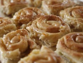 Orange Sweet Rolls Recipe : Ree Drummond : Food Network | Yummy goodness | Scoop.it