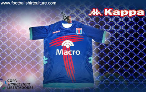 Club Atlético Tigre Copa Libertadores Kappa 2013 Football Shirt | bocasosmivida | Scoop.it