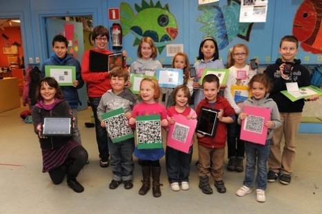Kleuters van drie met iPad in de klas - Het Nieuwsblad | Digitale prentenboeken | Scoop.it