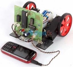 Know How a Cell Phone Controlled Robotic Vehicle works | Makers and Future Electronics | Scoop.it