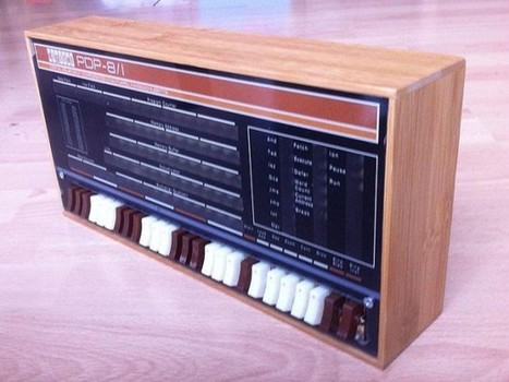 Raspberry Pi-based PDP-8/1 Replica: PiDP-8 - Technabob (blog) | Raspberry Pi | Scoop.it