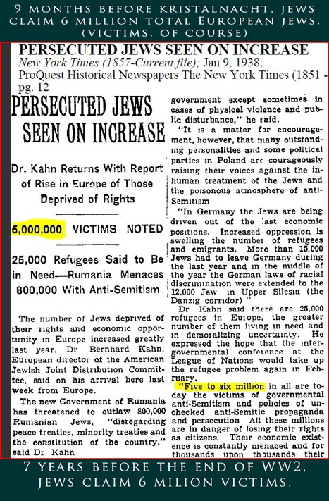Primary Documents 3: Persecuted Jews Seen On Increase | WW2: Discrimination Of Jews in the United States | Scoop.it