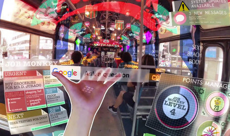 A Vision Of The Future w/ Augmented Reality Everything | Geekologie | AR - QR | Scoop.it